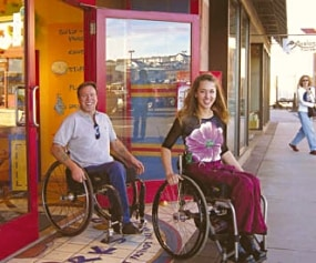 Staying healthy and happy--and free of decubiti--has always been a struggle for wheelchair users. Innovative new seating systems make the ride a lot easier.