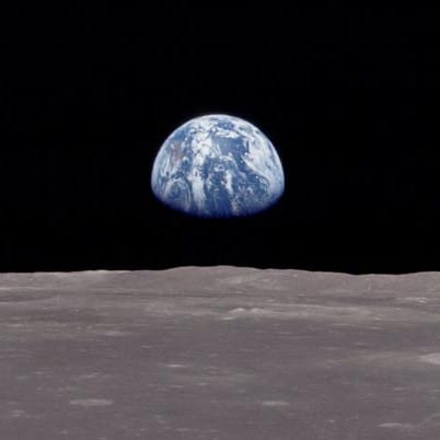 Photo by Apollo 8 astronauts
