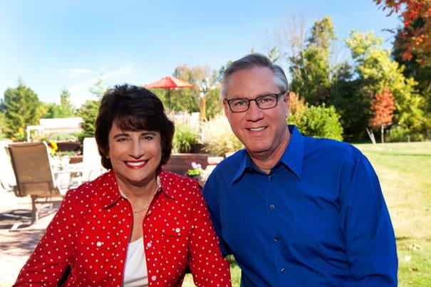 Rosemarie Rosetti and Mark Leder