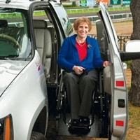 Judy Hale Everett was willing to wait two years for a Suburban she could drive from her chair.