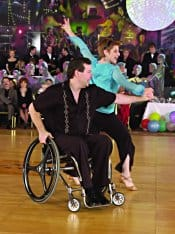 Ray Leight and Melinda Kremer wrote the first wheelchair ballroom curriculum for instructors.