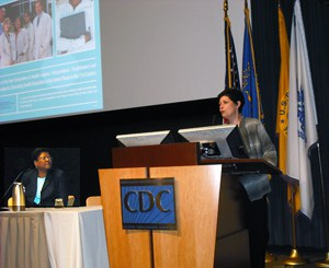 CDC's principle deputy director Dr. Ileana Arias urges people with disabilities to increase their rate of activity.