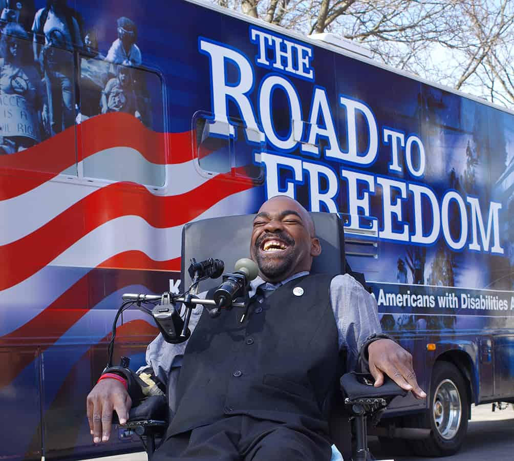 The Road to Freedom, by Rachel Bridges/Museum of disABILITY History/People Inc.