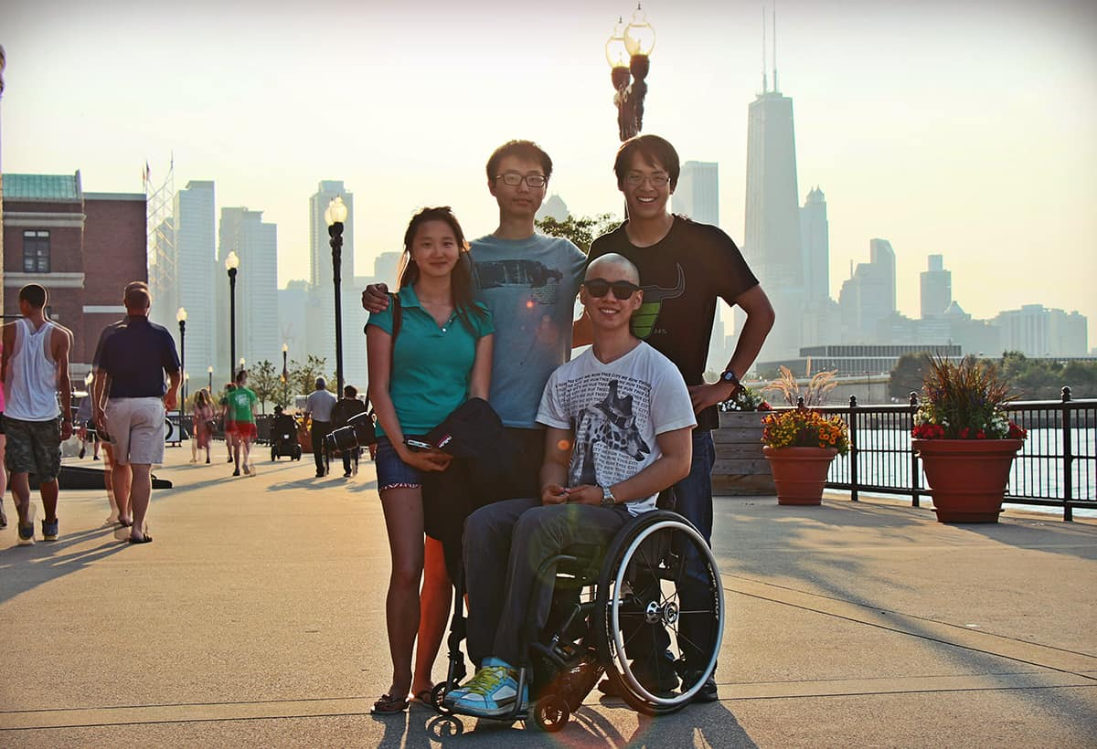 Cynthia Cheung,You-Myeong Kim, Brad Riew and Kunho Kim toured 20 cities in 50 days.